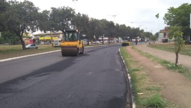 Photo of Trecho da Avenida NS-04 é interditado para obra viária